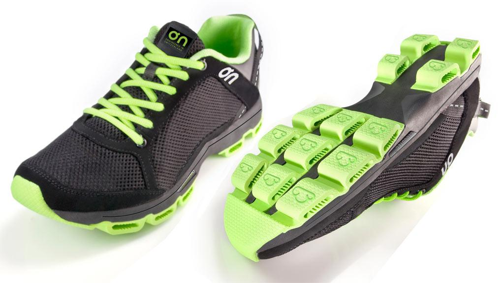 A recent prototype of the On Running Shoe - the final design will be unveiled in February, 2010