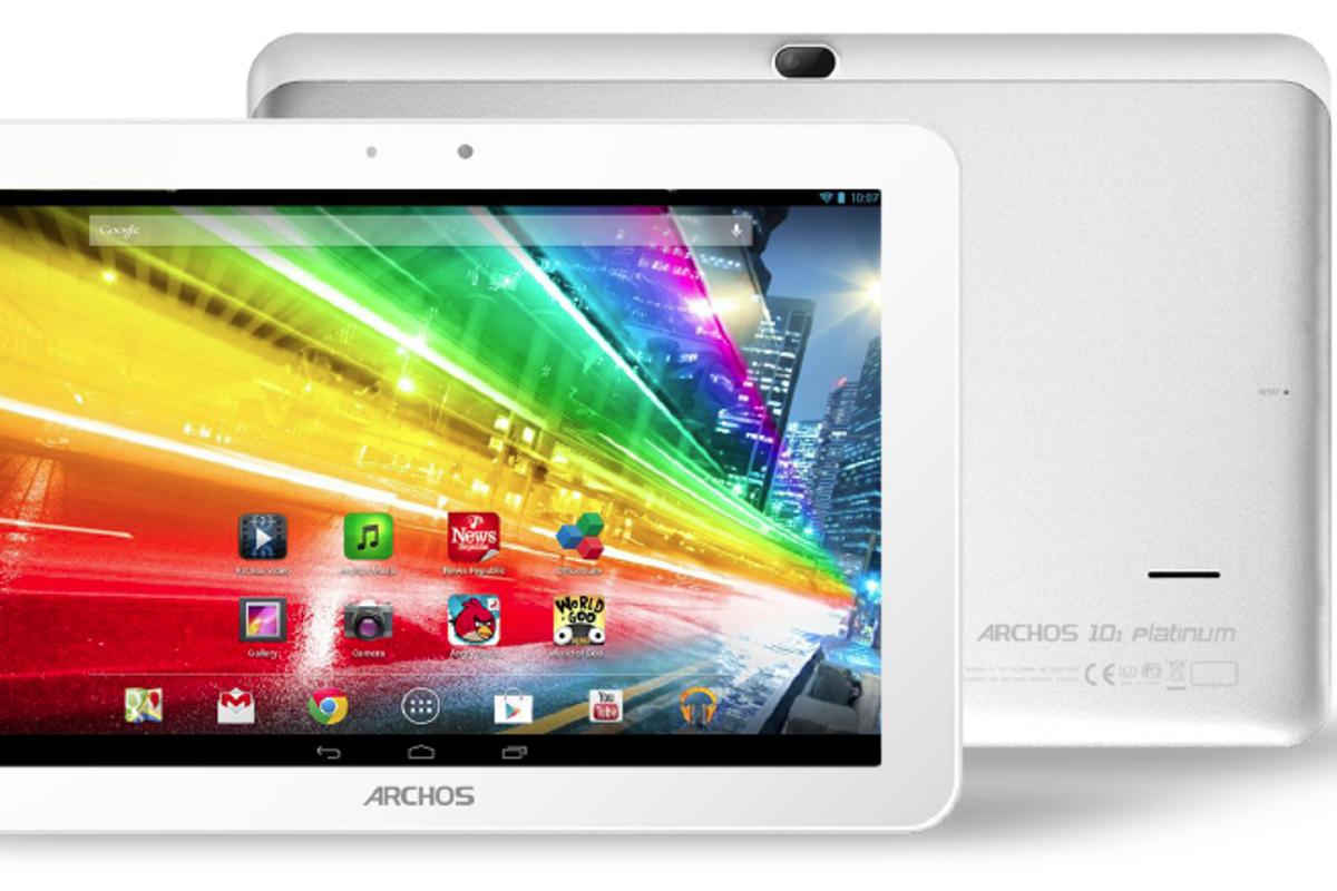 The Archos Platinum Series tablets