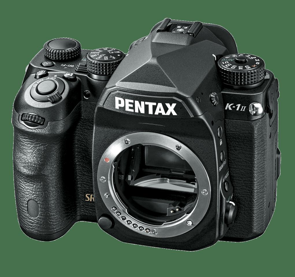 The Pentax K-1 MkII features a 36.4 MP full-frame CMOS sensor