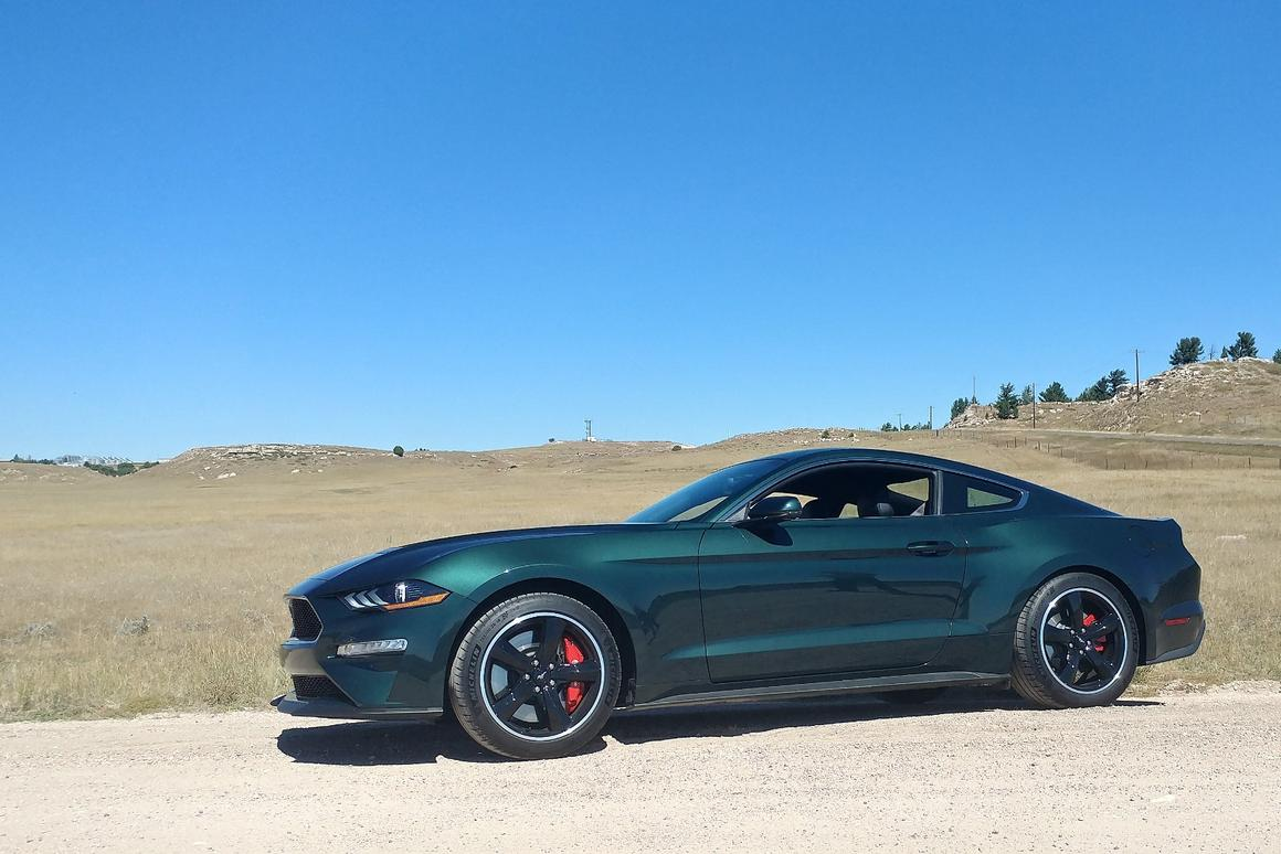 Review: 2019 Mustang Bullitt gives big-screen icon a 21st