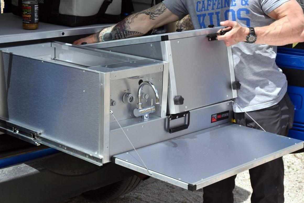 Trail Kitchens utility boxes drive lightly for campsite ...