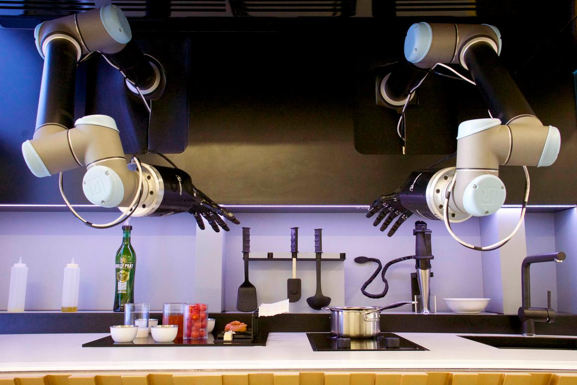Moley Robotics' Automated Kitchen