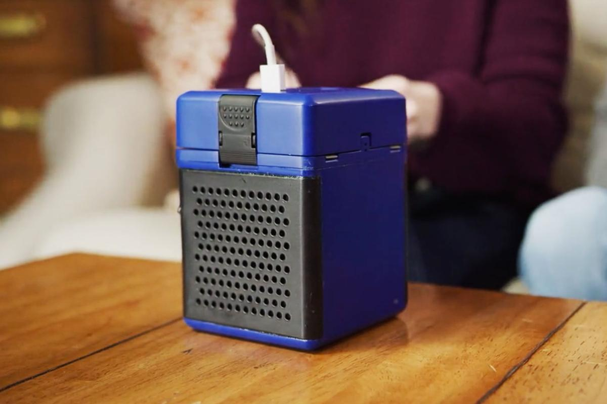 The HydraCell Cube is a fuel cell that provides power when you add salt water
