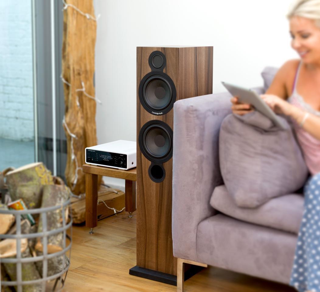 The Minx Xi and Aero 6 speakers from Cambridge Audio