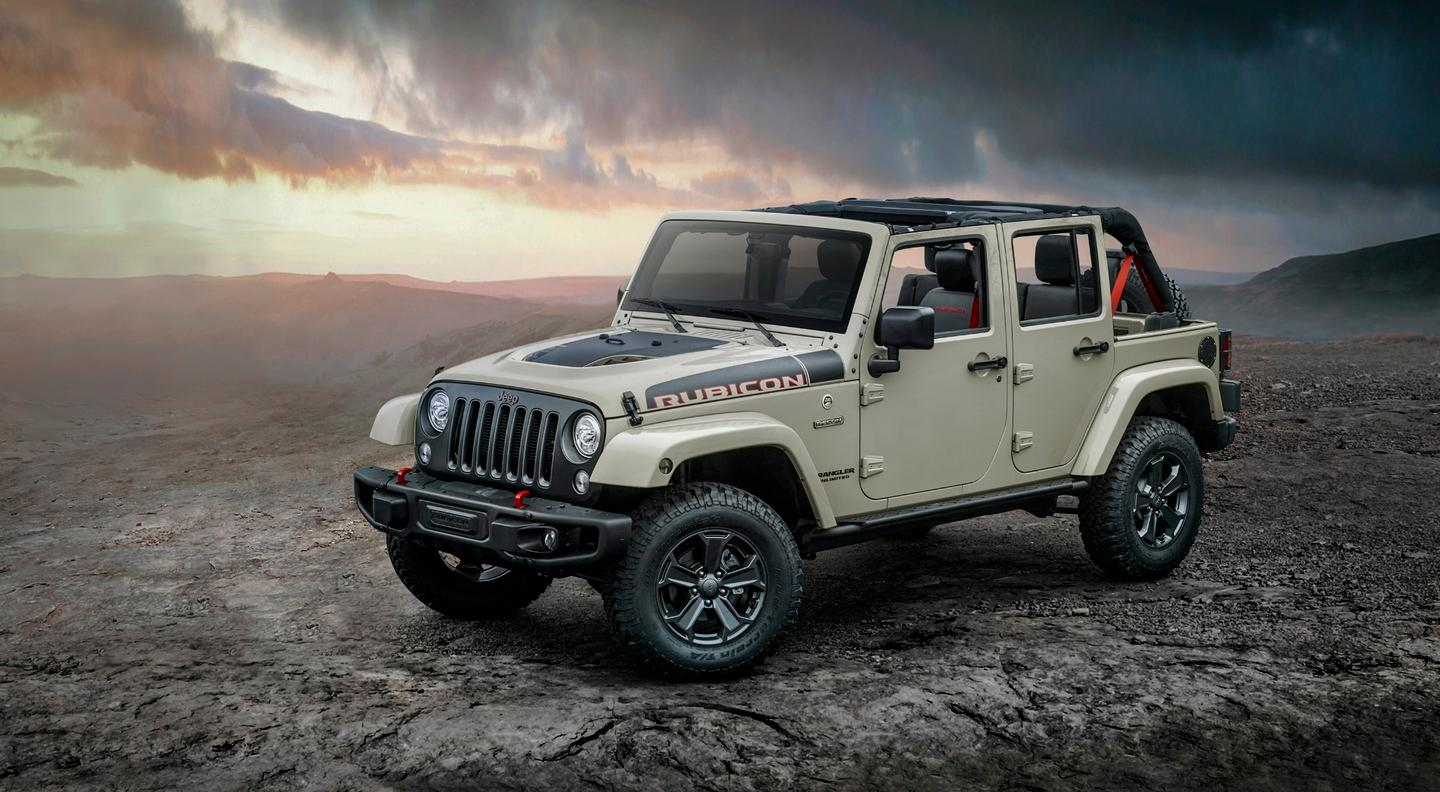 The new Jeep Wrangler Recon Edition will be on sale later this month