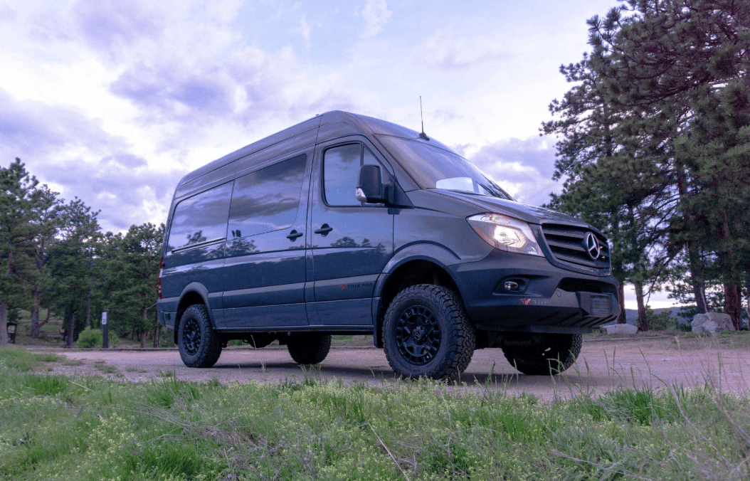 This Skier/Surfer van is based on the second-generation Sprinter, but Titan has also begun working on the third-generation vans