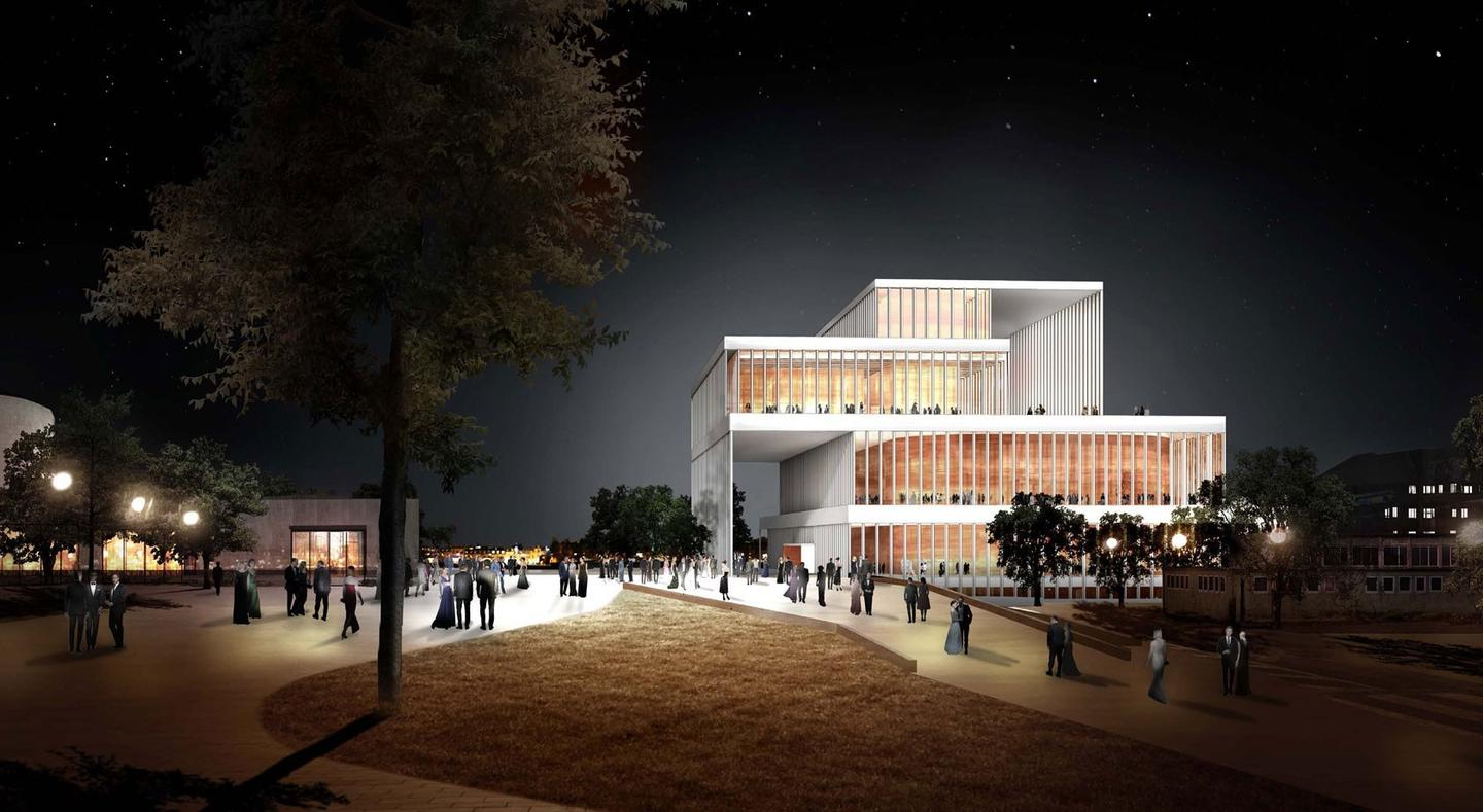 David Chipperfield Architects' design for the concert hall
