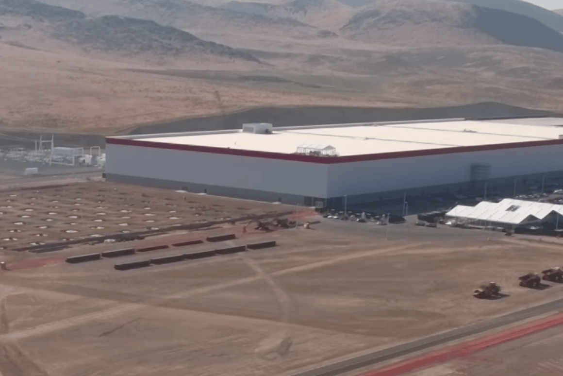 The Gigafactory is still under construction, but Tesla is expecting it to be turning 500,000 batteries per year by 2018