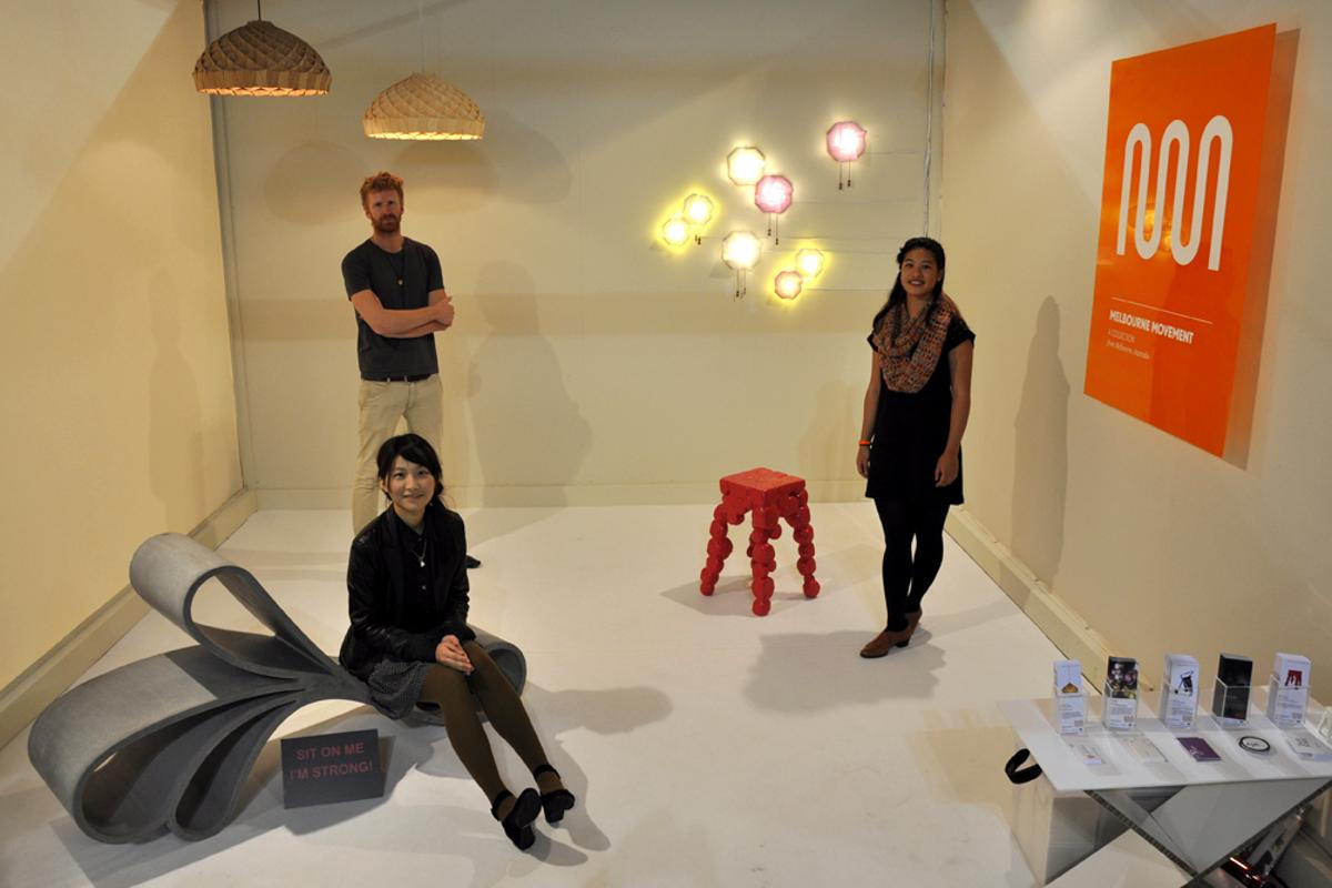 Gizmag was lucky enough to meet a diverse range of young designers taking part in this year's SaloneSatellite (photo: Edoardo Campanale/Gizmag)