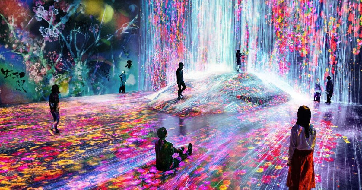 Tokyo's spectacular digital art museum makes visitors part of the art