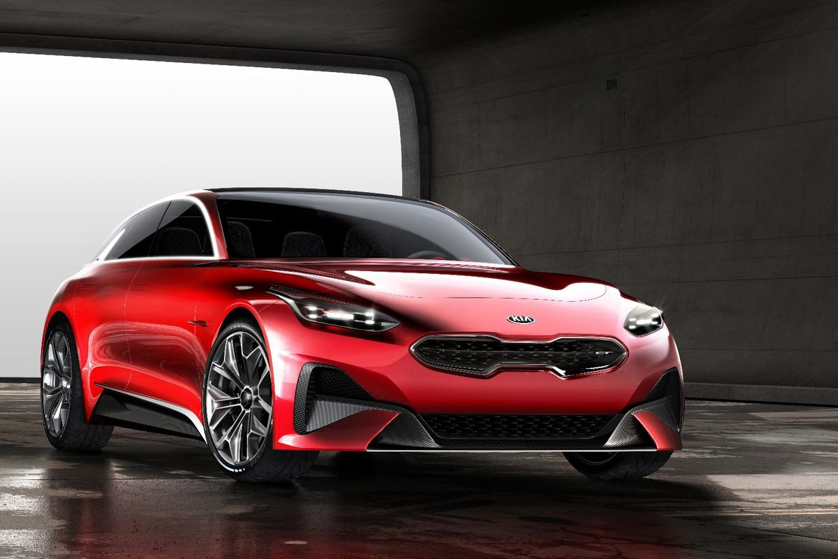 The sporty new Kia estate concept, which will be debuting at the Frankfurt Motor Show