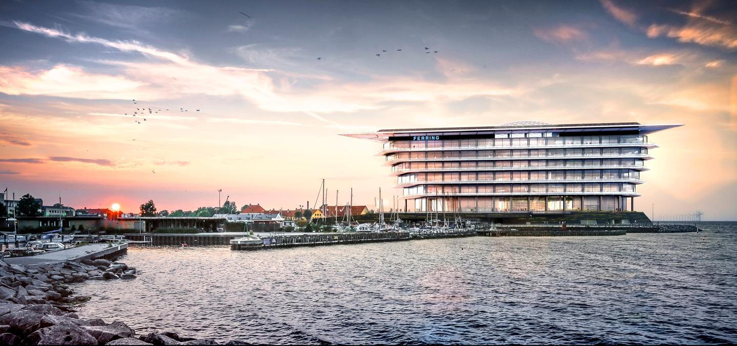 The site is in Kastrup, on the outskirts of Copenhagen and adjacent to the Øresund crossing to Malmö