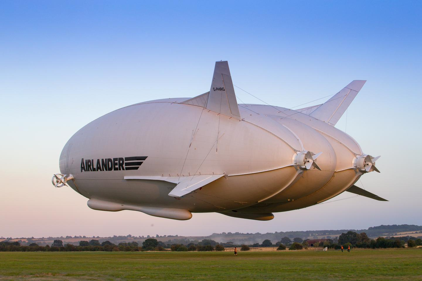 The current Airlander 10 prototype