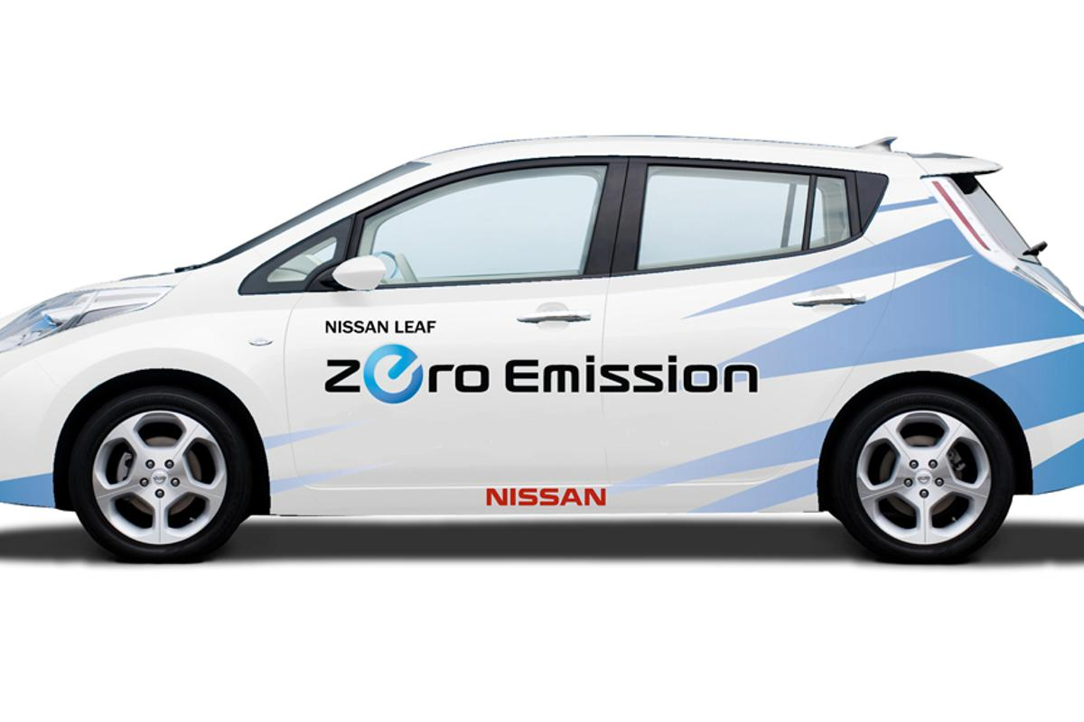 The Nissan LEAF will make its motorsports debut in the 2011 Pike Peak International Hill Climb