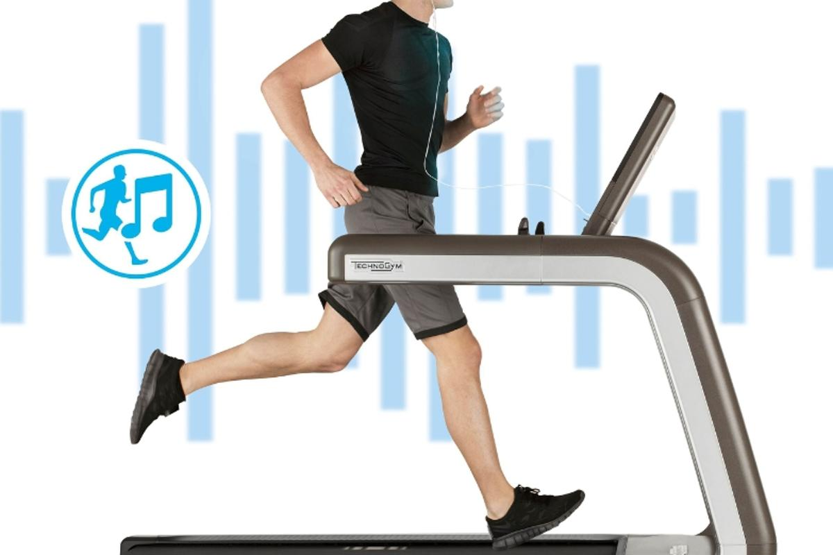 The Running Music system selects different songs based on the user's cadence