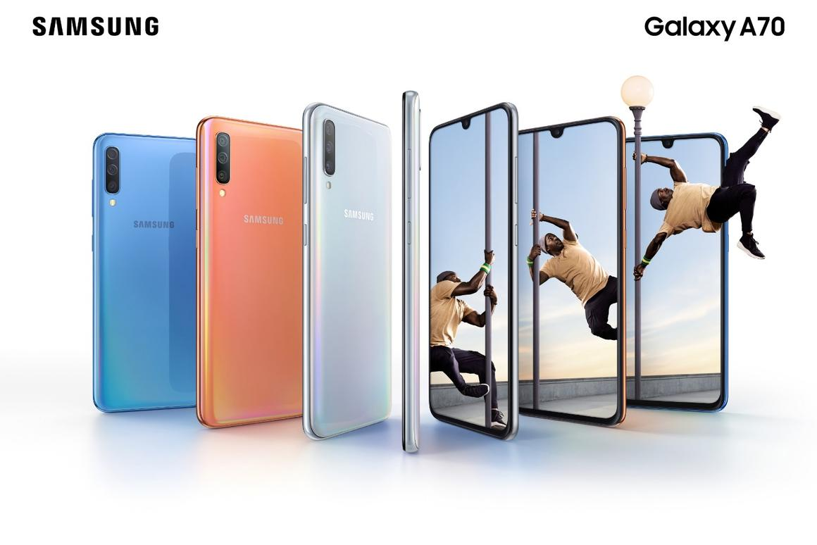 Samsung has unveiled the Galaxy A70