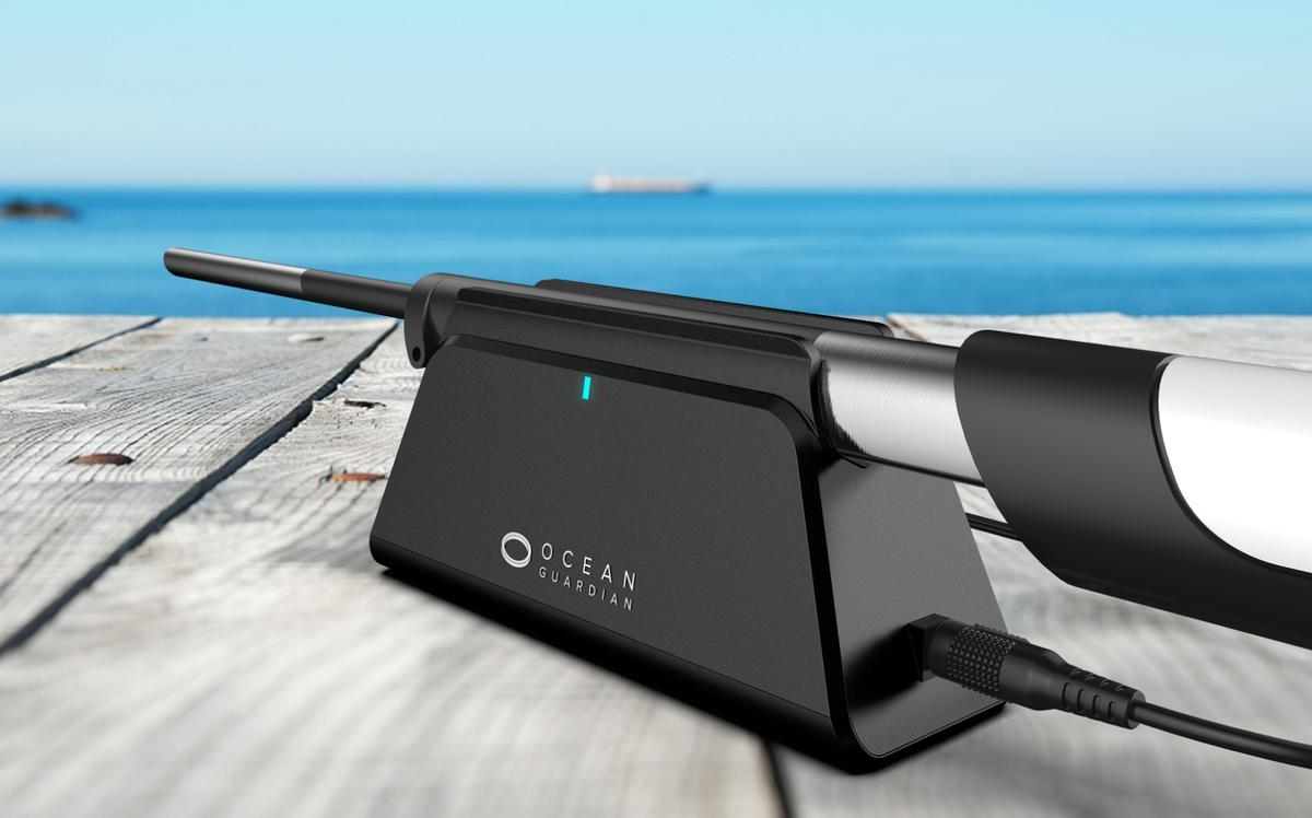 The eSpear runs for a claimed one to two hours per inductive charge of its lithium battery
