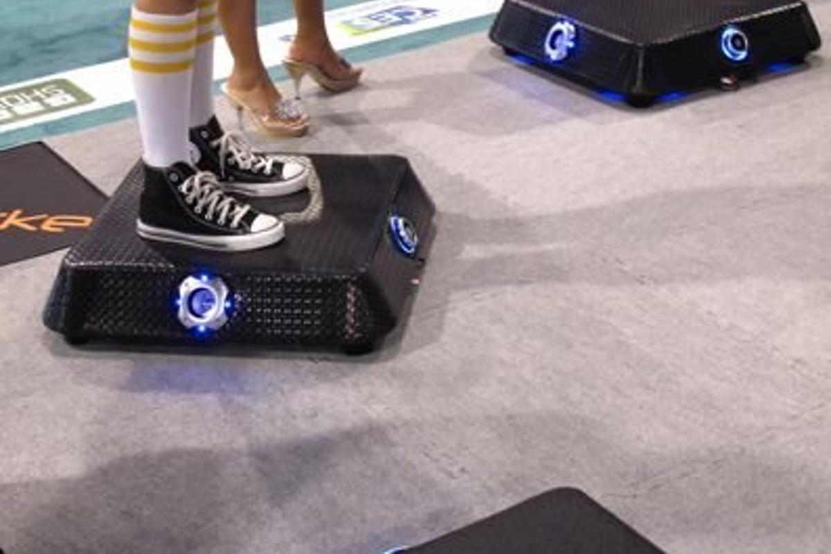 The XRocker Vibe platform for Guitar Hero and Rock Band