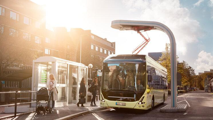 Volvo's electric bus batteries are set to gain a second life after they leave the road