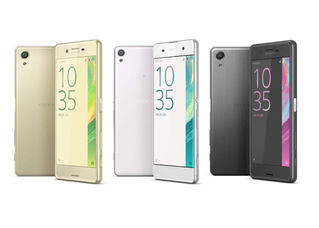 As yet no prices have been announced by Sony for the new Xperia X line