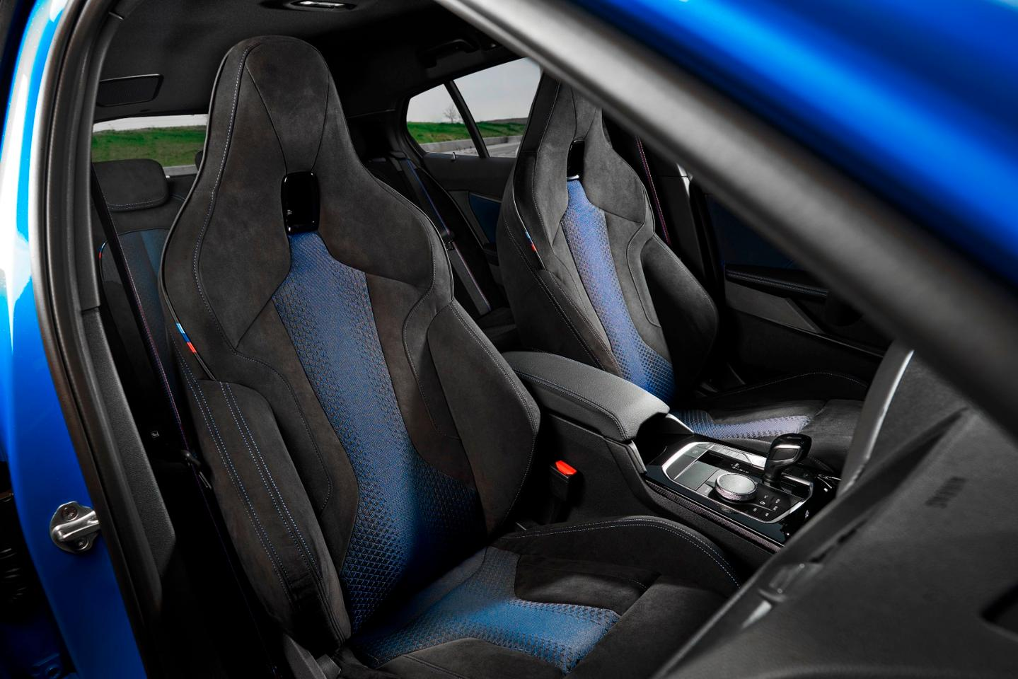 Interior of the 1 Series M-spec looks great