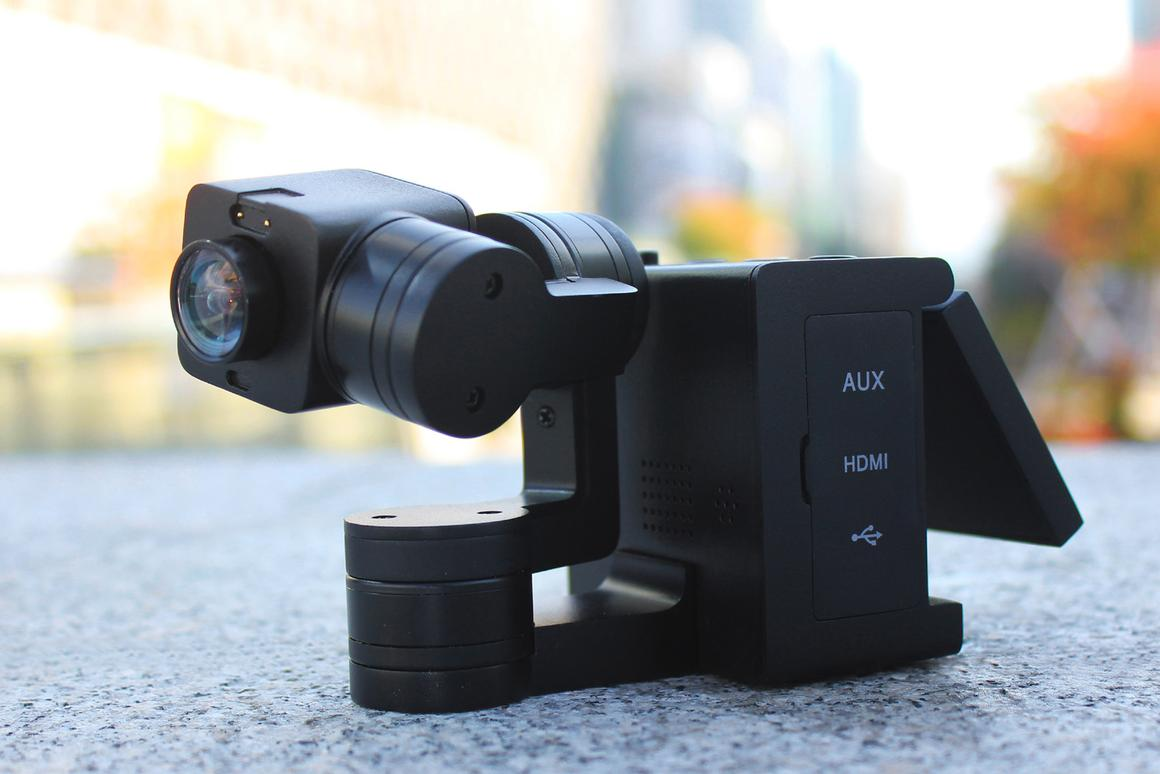 The 4K-shooting, gimbal- and screen-equipped Idolcam