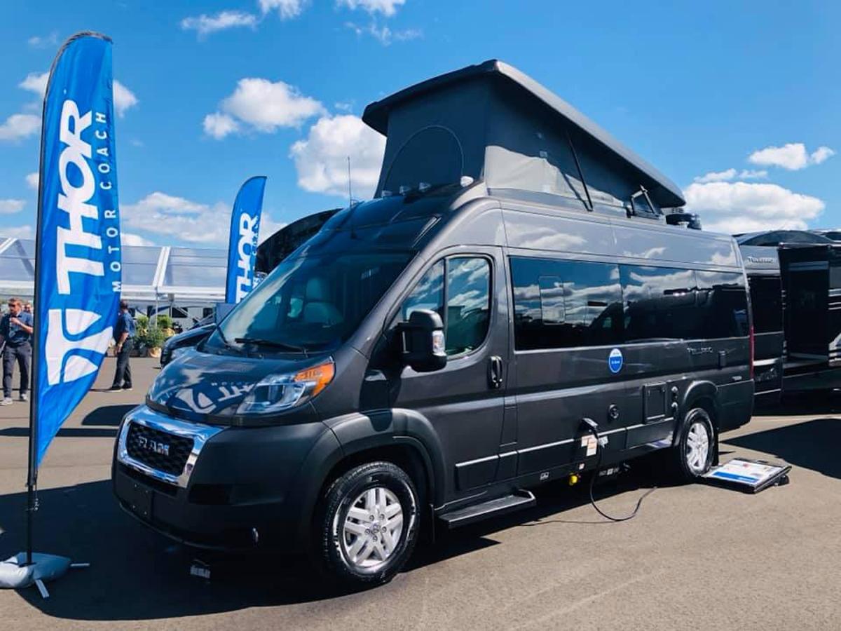 Thor camper van fuses together American and European van life