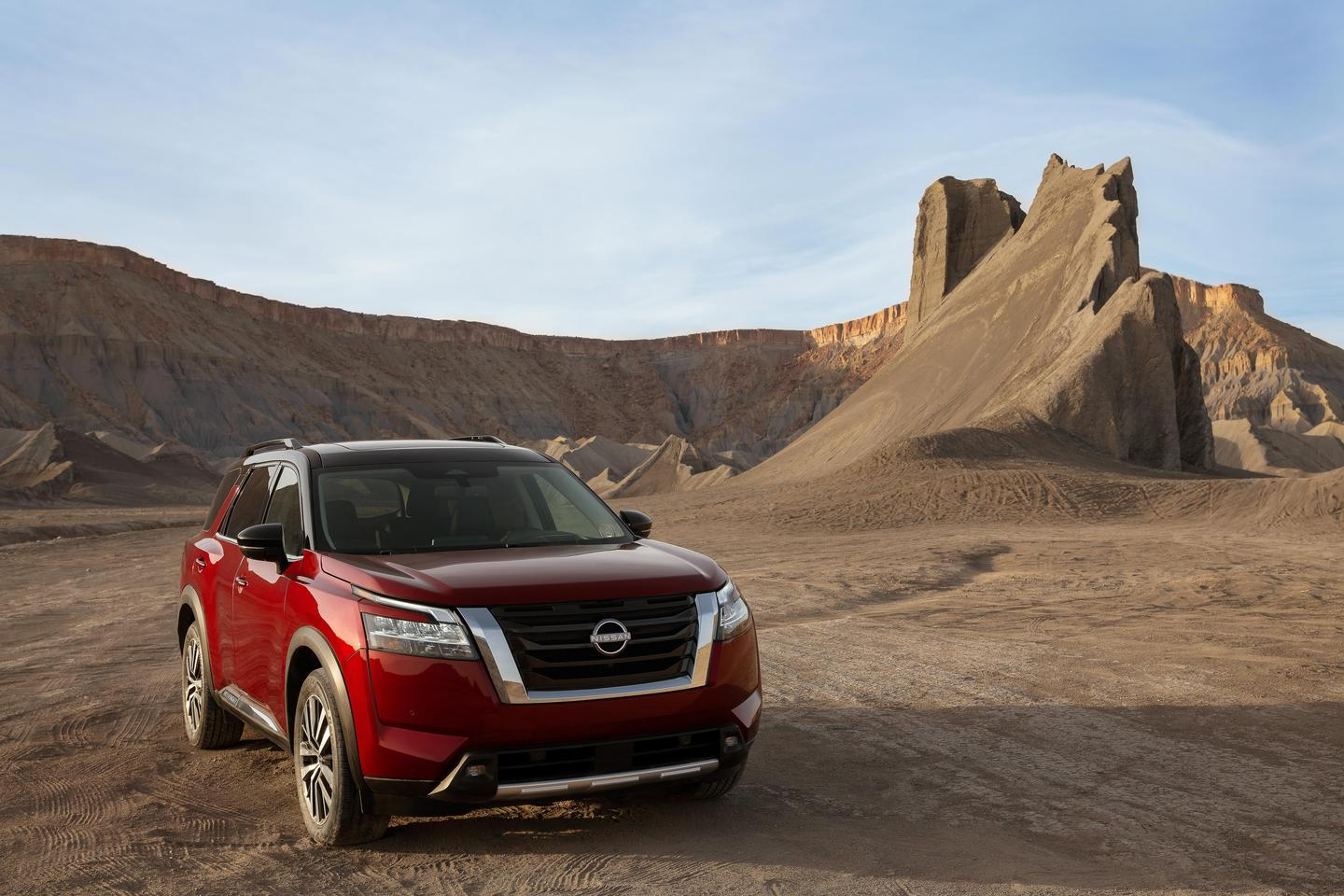 The new 2022 Nissan Pathfinder marks 35 years since the model's debut to the US market