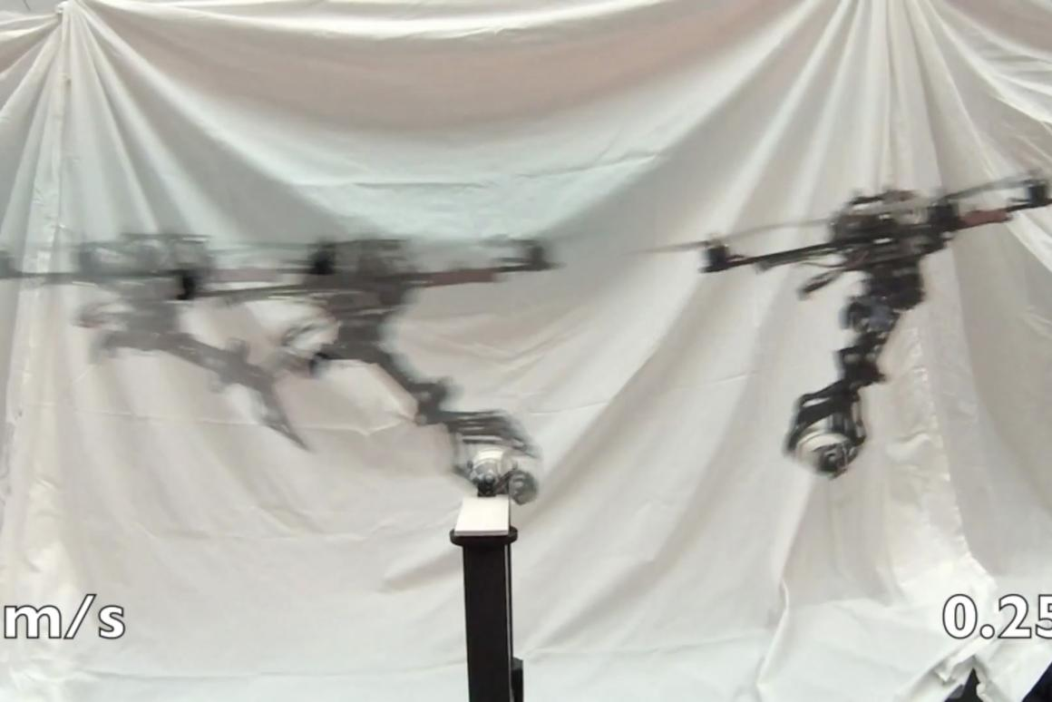 Researchers at UPenn's GRASP Lab have replicated how a bird of prey grasps objects mid-flight
