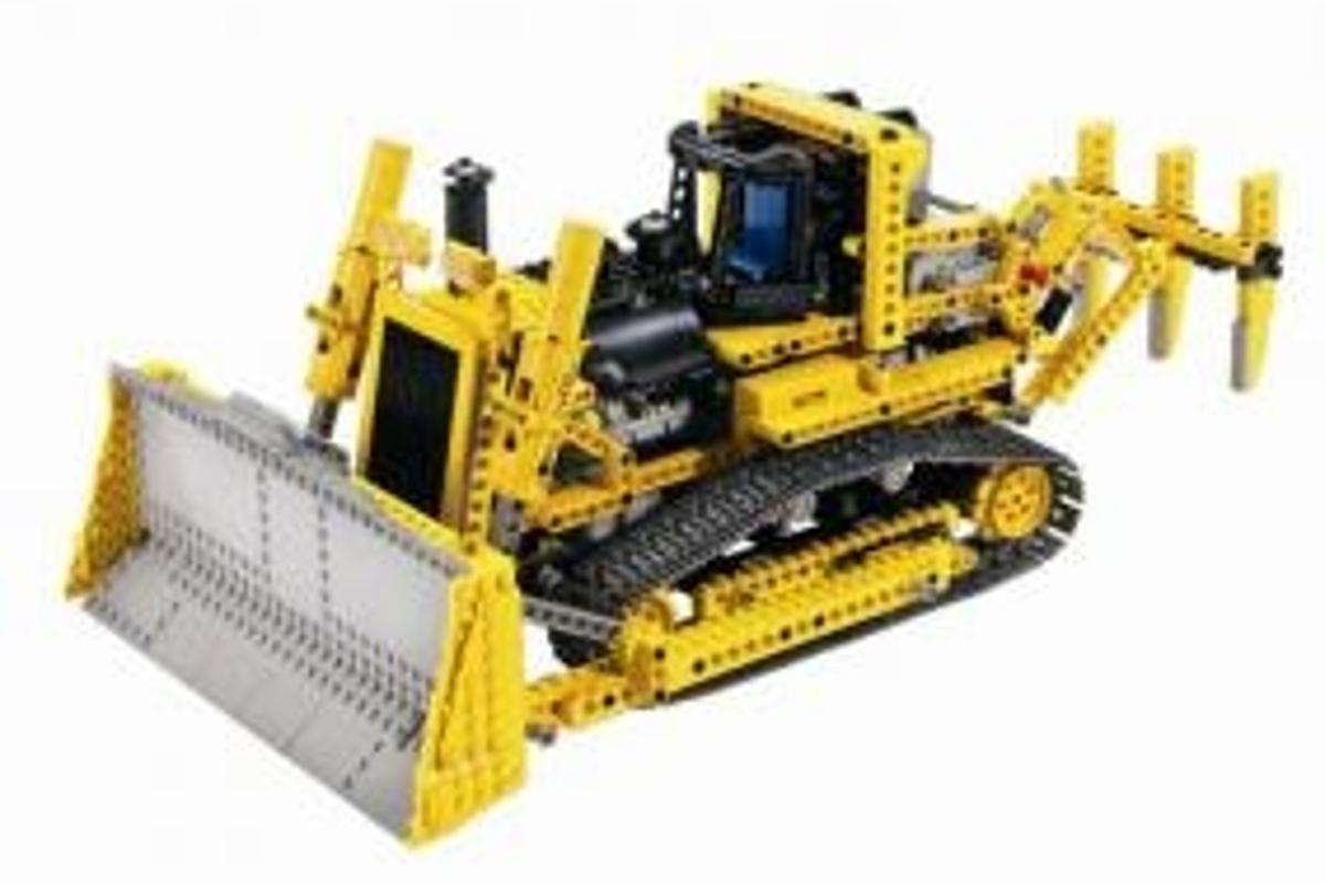 Motorized Bulldozer