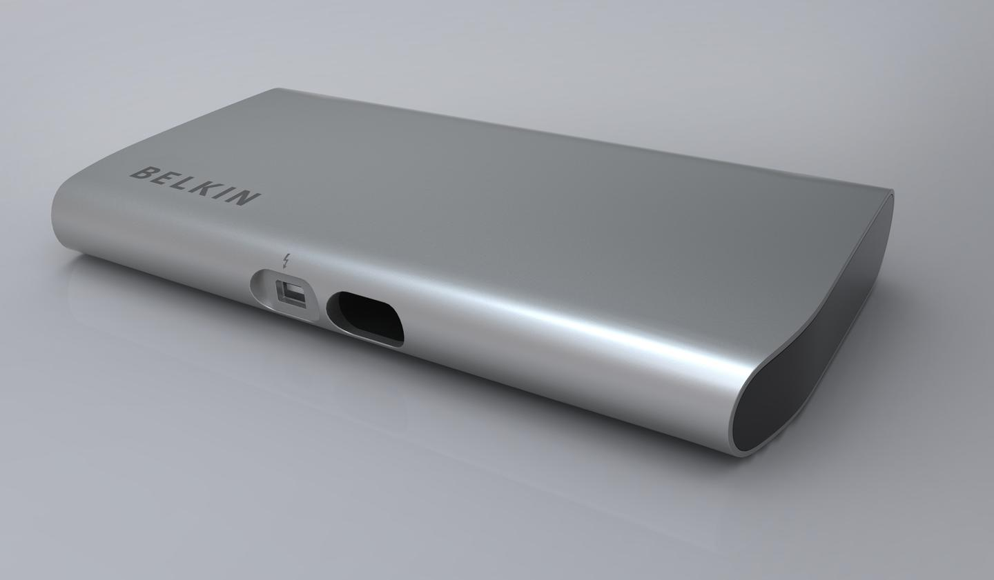 Belkin's Thunderbolt Express Dock is due out in September 2012