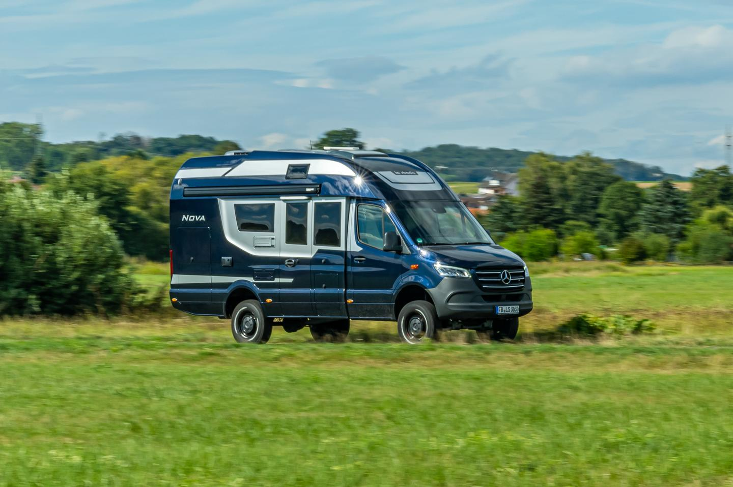 La Strada debuts the Nova M at the 2020 Caravan Salon