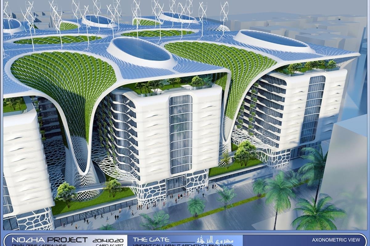 The planned Gate Residence will feature a host of energy-saving and generating technologies