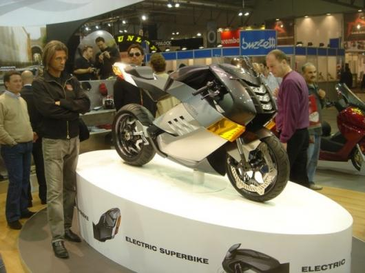The Vectrix Electric Superbike