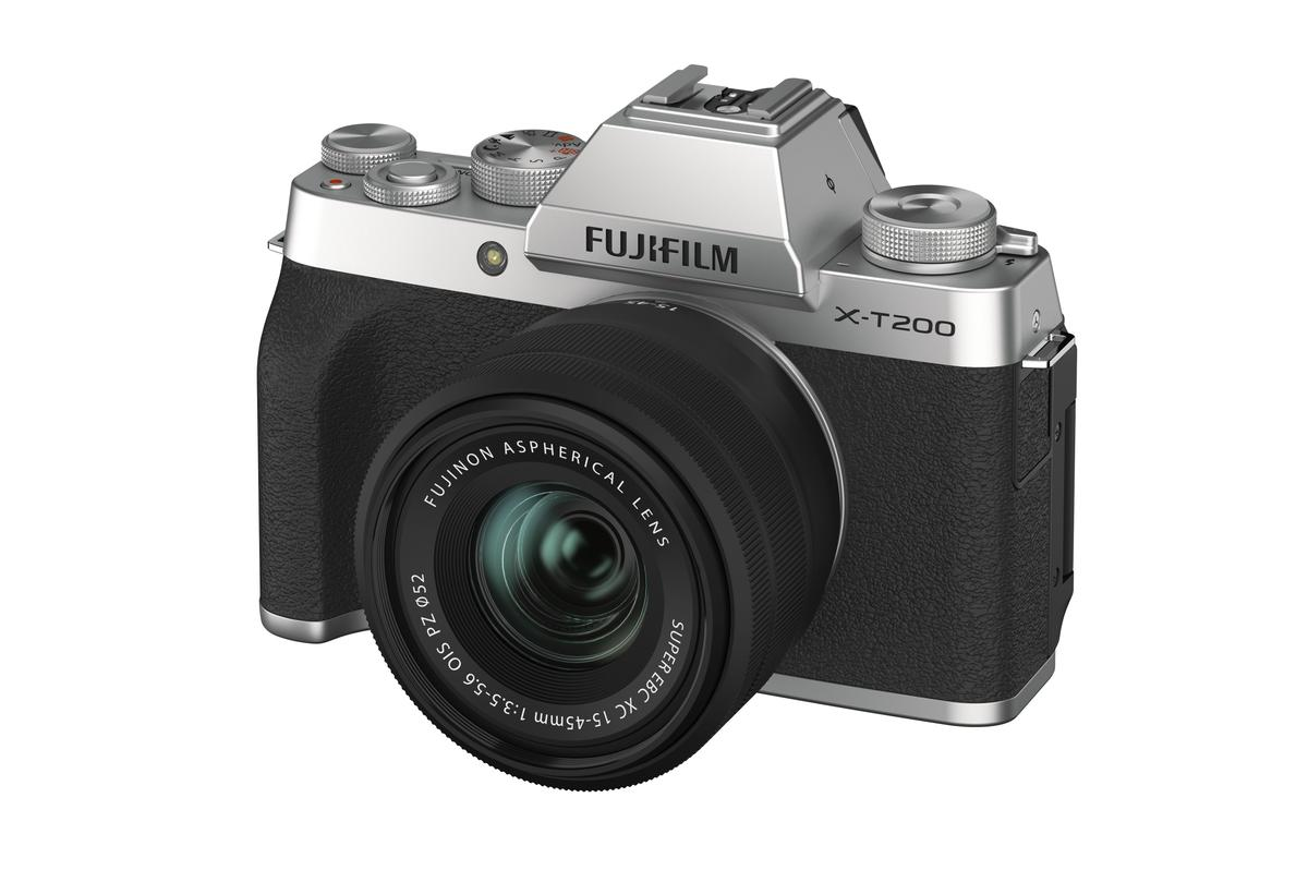 The Fujifilm X-T200 is on sale now for $799.95, including a kit lens