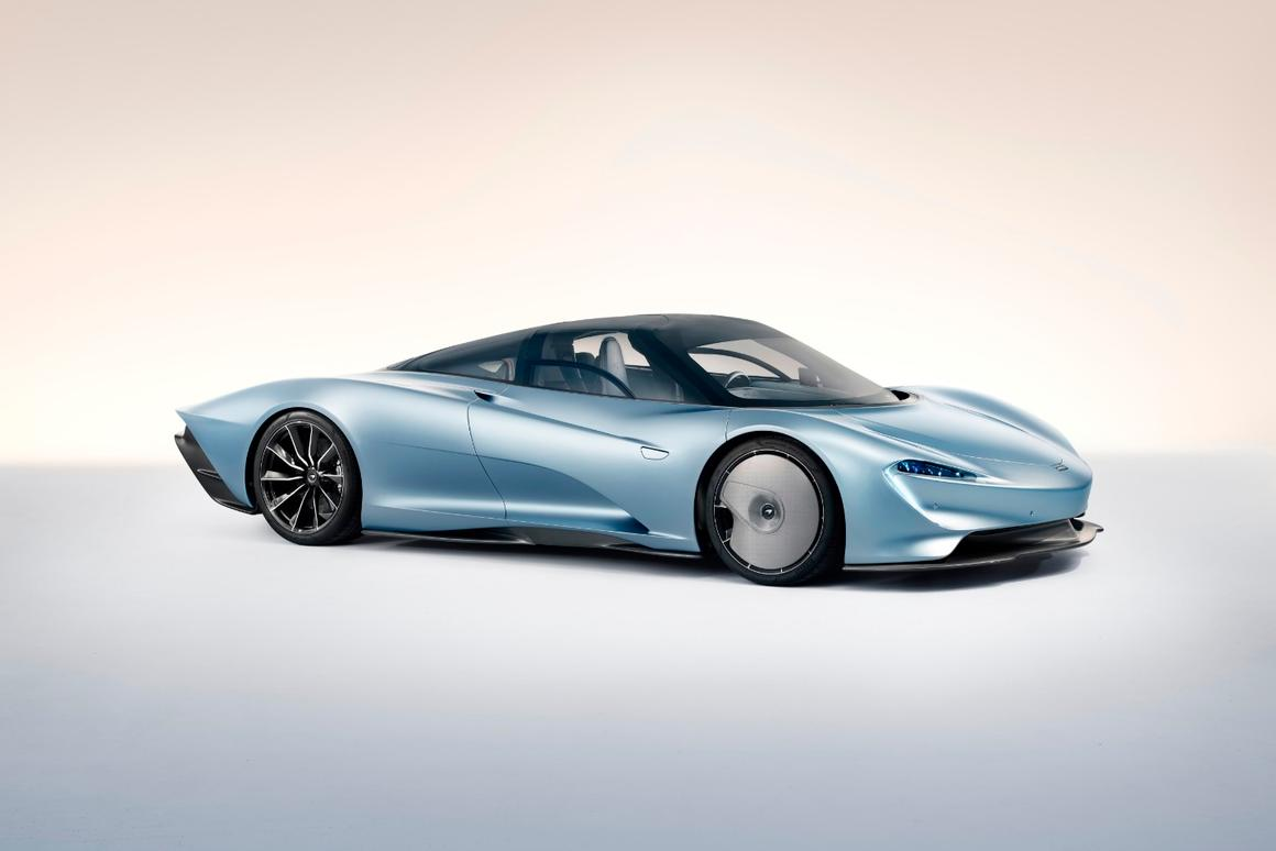 25 years on, McLaren launches radical, wind-sculpted hybrid