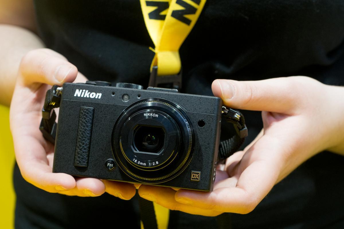 The Nikon COOLPIX A features a large DX-format 16.2-megapixel CMOS sensor