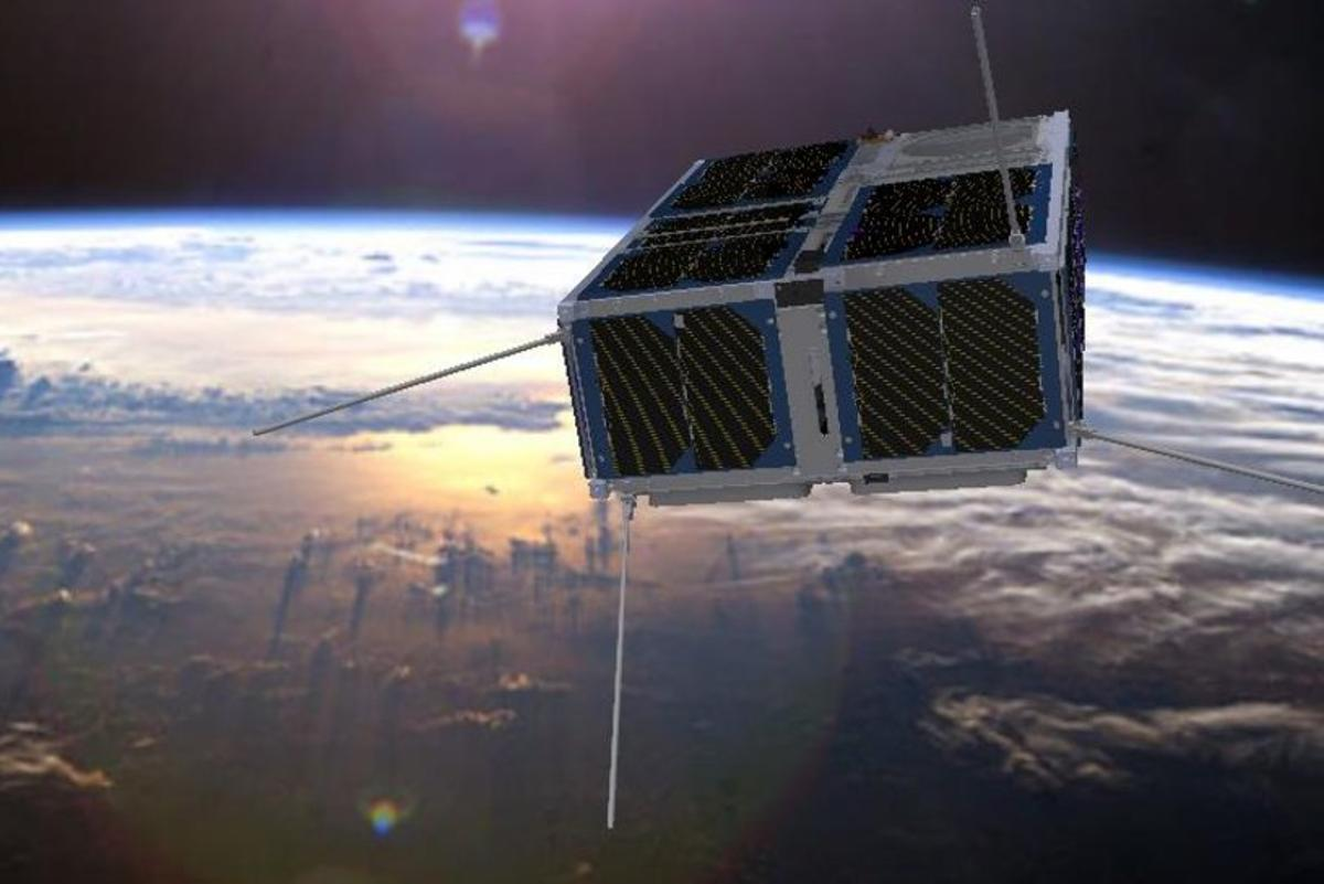 FSSCat proposes a constellation of two 6U CubeSats that provide data on Earth's ice and soil moisture content to complement the Sentinel fleet