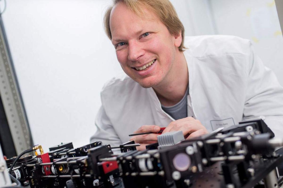 Professor Timo Betz at the University of Göttingen has led the development of a Lego-based high-resolution microscope