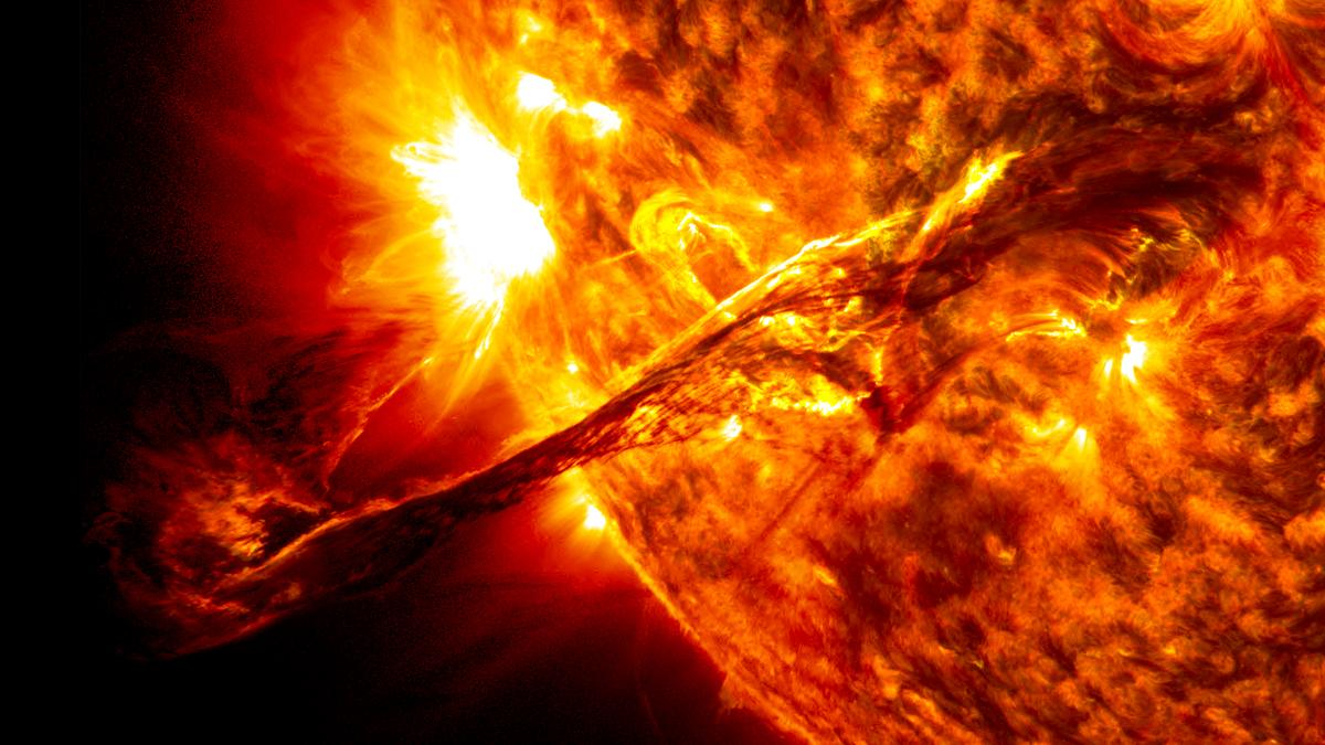 The ability to forecast solar flares is increasingly important as NASA prepares to send humans to the Moon under the Artemis program
