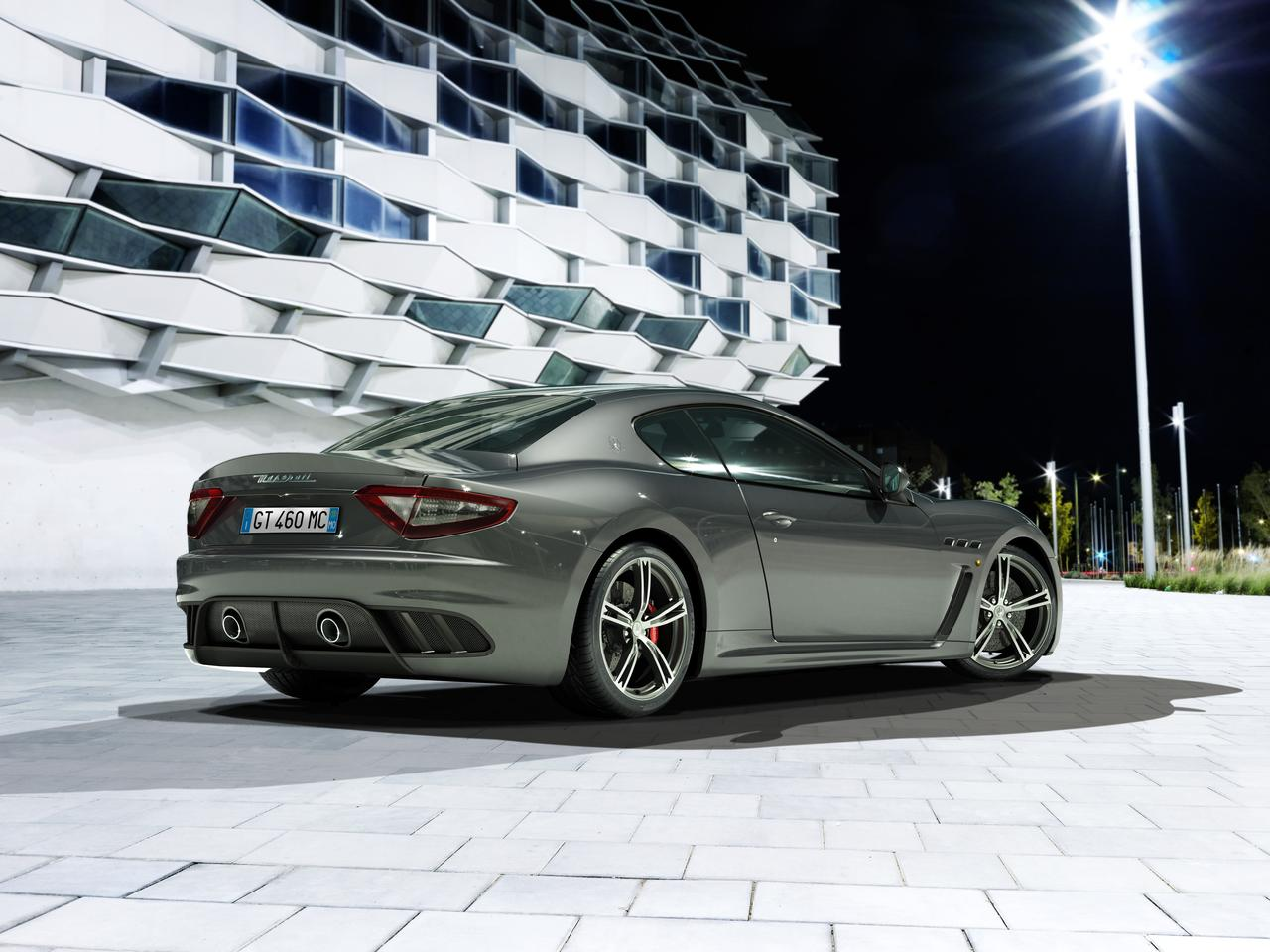 Originally launched in 2010 as a two-seat coupe, the MC Stradale is an upgraded GranTurismo inspired by the race cars of the Maserati Trofeo Championship
