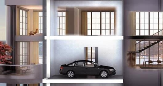 "Artists rendering of the 200 Eleventh Avenue ""En-Suite Sky Garage"""