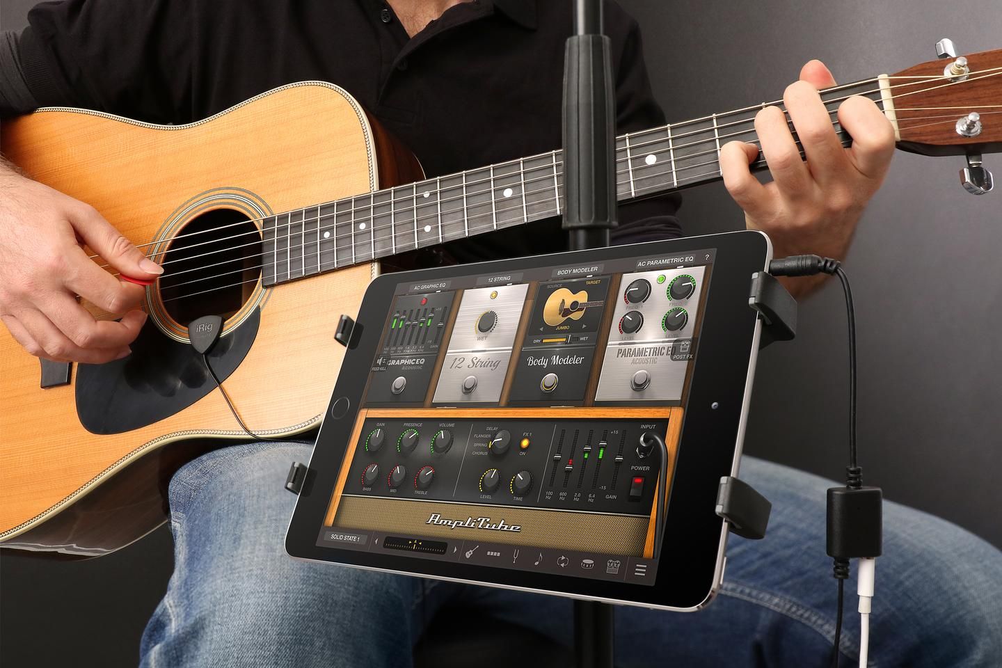 The iRig Acoustic from IK Multimedia costs $49.99
