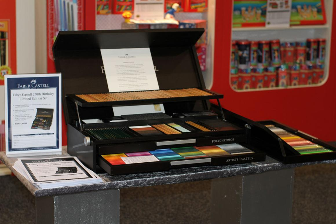 Faber-Castell 250th Anniversary Limited Edition Wood Case set