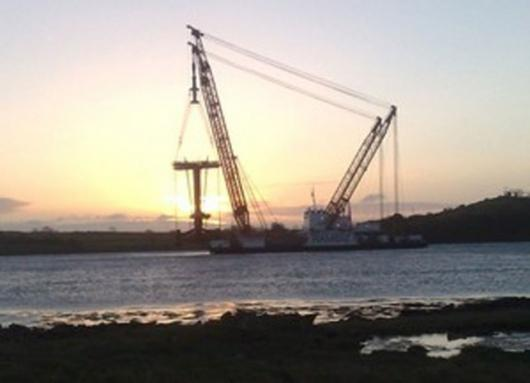 SeaGen tidal energy generator nears completion
