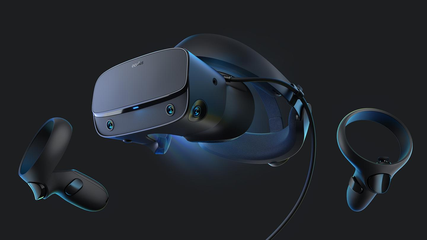 The Oculus Rift S has been made in partnership with Lenovo