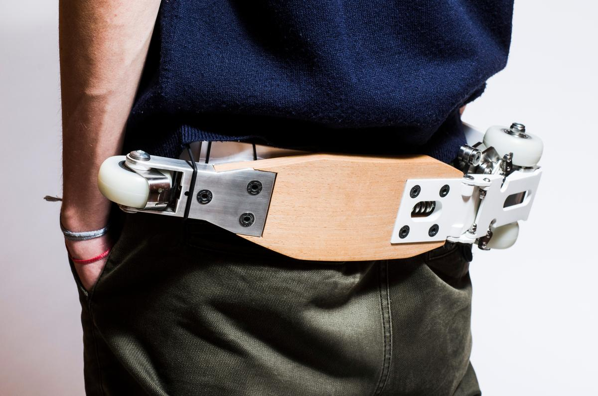 The w scooter – it's also a belt