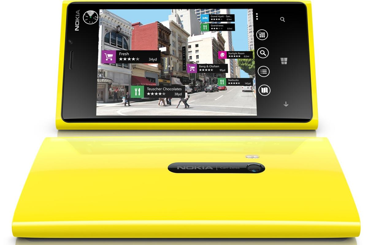 The Lumia 920 looks to be a significant improvement over its predecessor, the Lumia 900