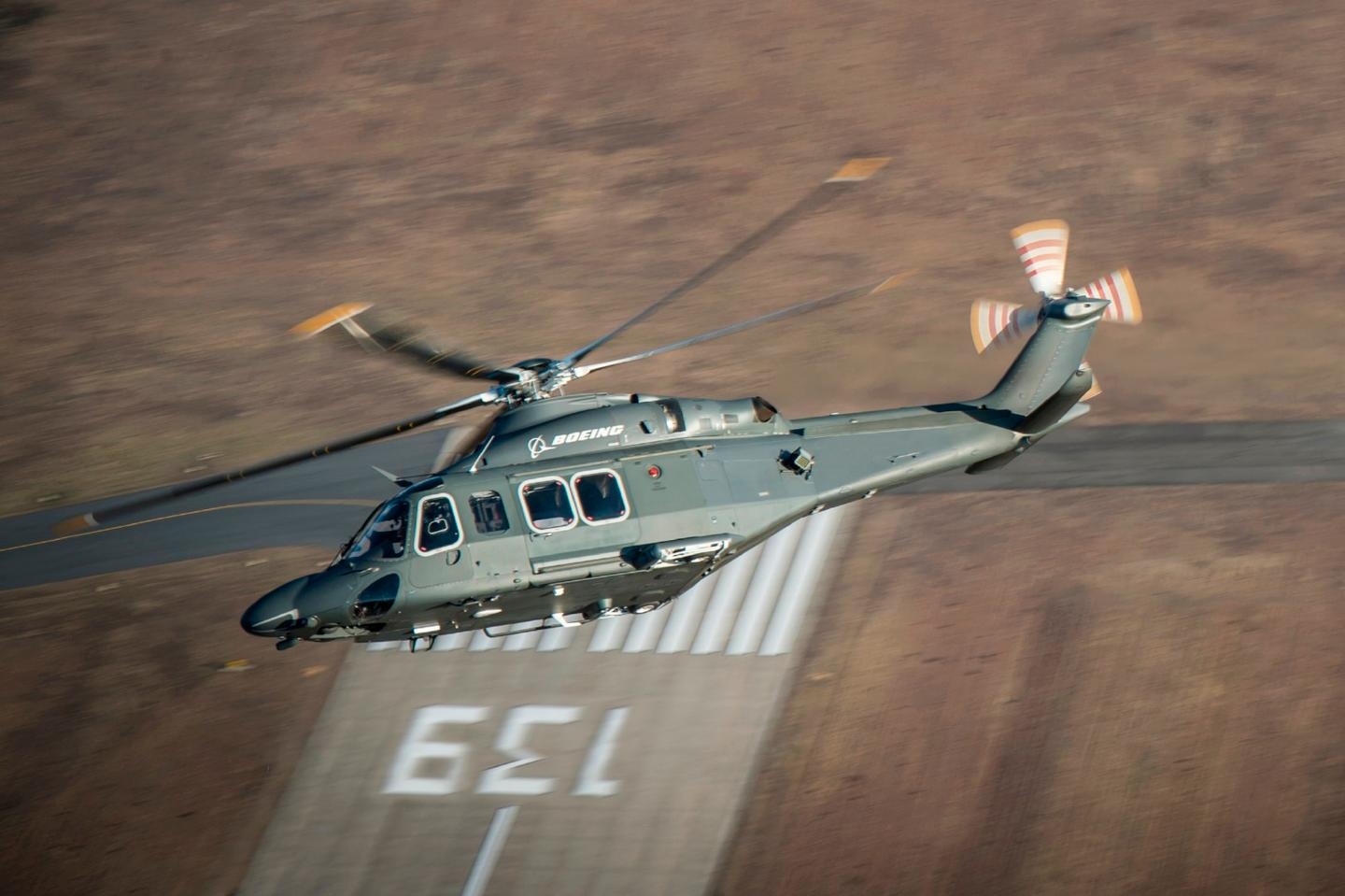 """Boeing will provide its MH-139 helicopter and related support to the USAir Force to replace the fleet of UH-1N """"Huey"""" helicopters"""