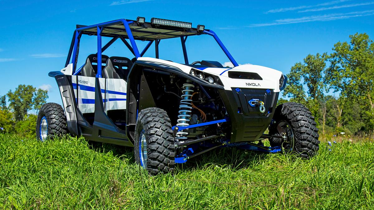 With 20 inches of suspension travel, the ZeroUTVshould be able to cover almost any ground